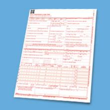 ICD-10 claim form